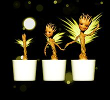 Potted Angels by alice9