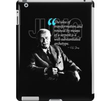 A Quote from Carl Gustav Jung Quote #16 of 50 available iPad Case/Skin