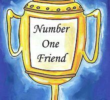Trophy - Number One Friend by John Douglas
