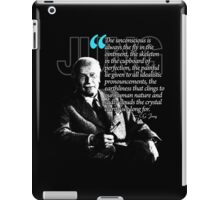 A Quote from Carl Gustav Jung Quote #20 of 50 available iPad Case/Skin