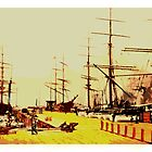 Tall Ships 49er Gold Rush by Tracy Lee Mead