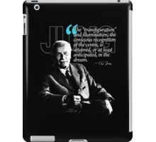 A Quote from Carl Gustav Jung Quote #18 of 50 available iPad Case/Skin