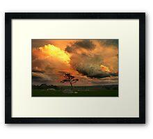 Late Storm 1 - Dog Rocks Framed Print