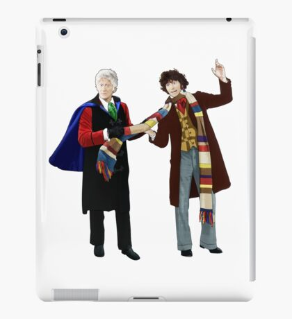 3rd and 4th Doctors iPad Case/Skin
