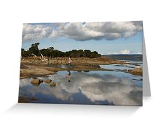 Mirror Water Greeting Card