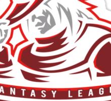 Fantasy League Redmages Sticker