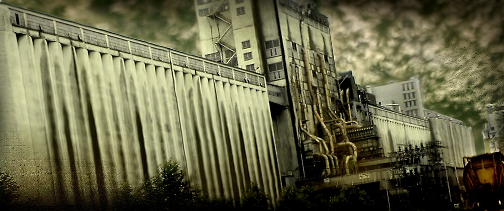 Grain Elevator by Cliff Vestergaard