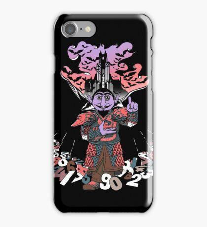 The Count untold. iPhone Case/Skin