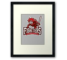Fantasy League Fighters Framed Print
