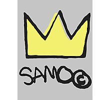 Basquiat SAMO Crown Photographic Print