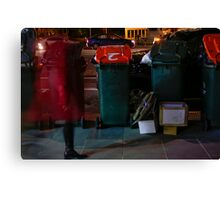 Red Ghost Faster Canvas Print