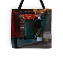 Red Ghost Faster Tote Bag