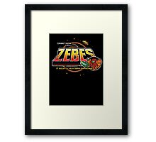 Greetings from Zebes! Framed Print