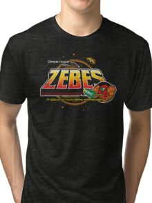 Greetings from Zebes! Tri-blend T-Shirt