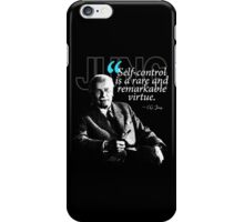 A Quote from Carl Gustav Jung Quote #24 of 50 available iPhone Case/Skin