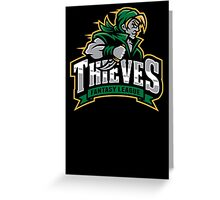 Fantasy League Thieves Greeting Card