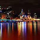 Yarra River Melbourne by Steven  Sandner