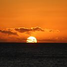 rising sun at Grants Point, Binalong Bay by gaylene