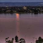 Moonrise Over The Swan River by TheGratefulDad