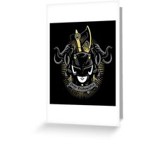 Ater Ordo Proboscidea Greeting Card