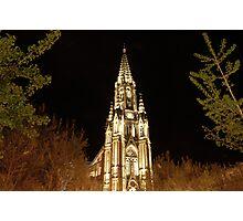 Church in San Sebastian Photographic Print