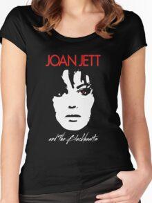 Joan Jett & The Blackhearts Women's Fitted Scoop T-Shirt