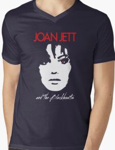 Joan Jett & The Blackhearts Mens V-Neck T-Shirt