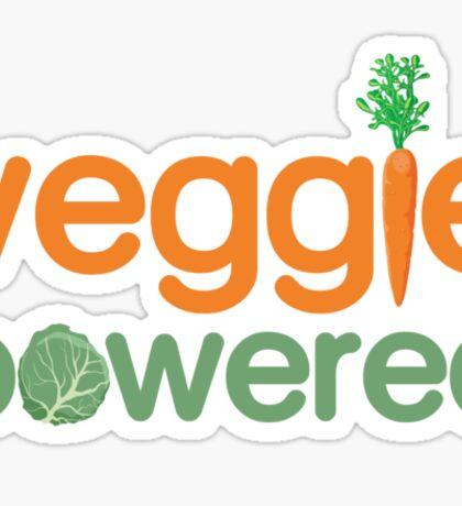 Veggie Vegetable Powered Vegetarian Sticker