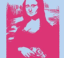 MUTHA LISA by Shane Connor Digital Artworks