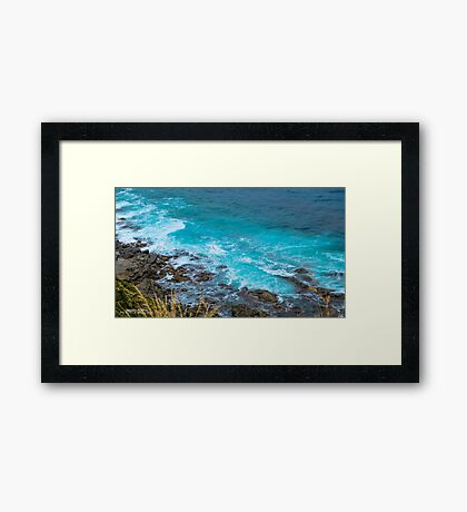 Picturesque Drive Framed Print