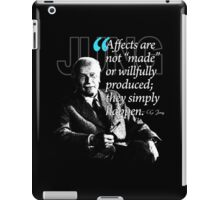 A Quote from Carl Gustav Jung Quote #39 of 50 available iPad Case/Skin
