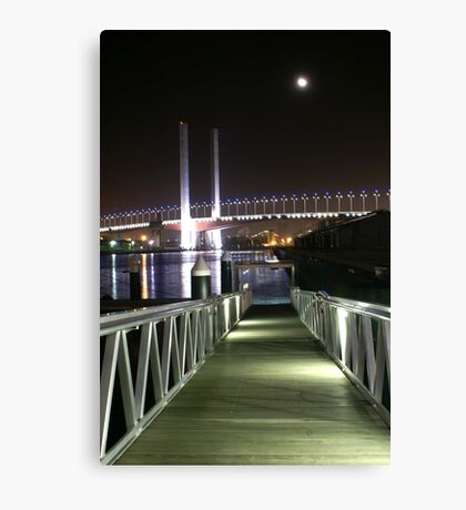 Stairways to Cresent Moons Canvas Print