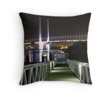 Stairways to Cresent Moons Throw Pillow
