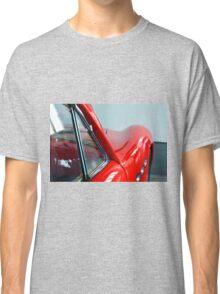 Detail of red sport curvy car Classic T-Shirt