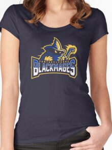 Fantasy League Black Mages Women's Fitted Scoop T-Shirt