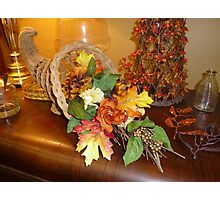 Thanksgiving Display Photographic Print