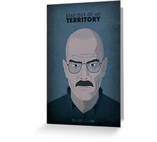 Breaking Bad - Over Greeting Card