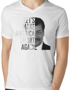 Let's Make America Smart Again - Neil deGrasse Tyson Mens V-Neck T-Shirt