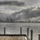 Stormy Skies Over Perth. by TheGratefulDad