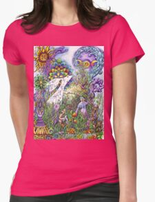 The Hare, a beautiful creature Womens Fitted T-Shirt