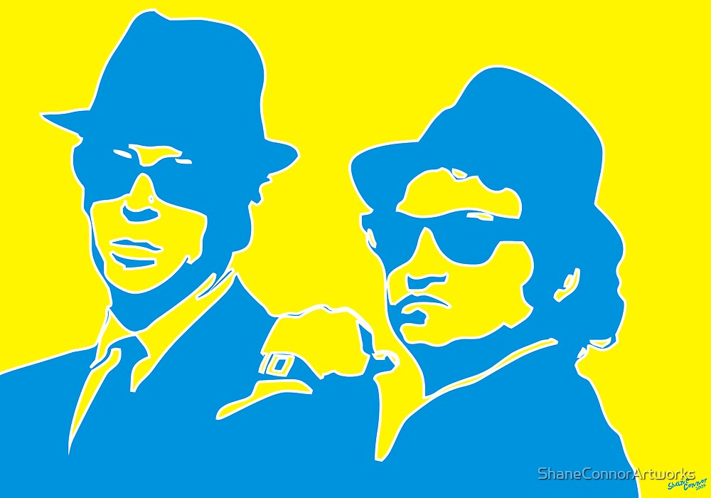 BLUE BROTHERS by Shane Connor Digital Artworks