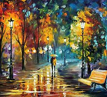 Soul Of The Rain — Buy Now Link - www.etsy.com/listing/210616200 by Leonid  Afremov