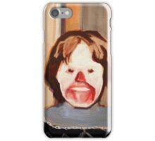 Creepy Clown Kid iPhone Case/Skin