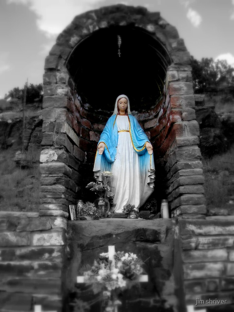 Mary in New Mexico by jim shriver