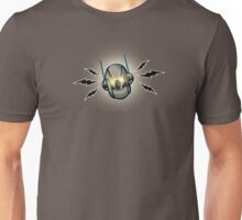 Iron Ghost Head Shot Unisex T-Shirt