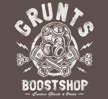 Grunts Boost Shop One Piece - Short Sleeve