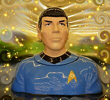 To Boldly Go Where No Hobby Lobby Cookie Jar Has Gone Before by WildestArt