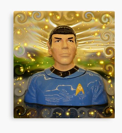To Boldly Go Where No Hobby Lobby Cookie Jar Has Gone Before Canvas Print
