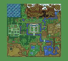 Link to the past light world Map by SecretNinja
