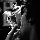 smoke (mono) by webgrrl